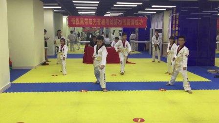 2018年宪哥考跆拳道黄带片段二