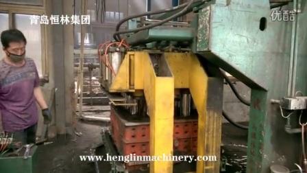 青岛恒林集团:高压气动多触头造型机工作视频