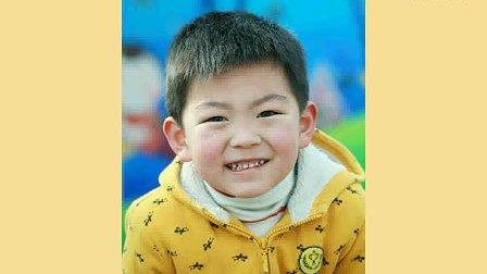 可爱孩子笑脸