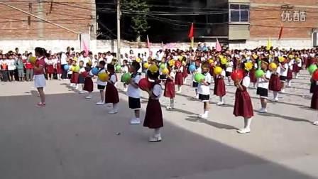 蓝田进校附小六一儿童节(气球舞)