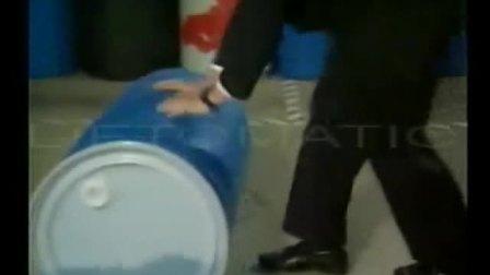 武汉汉利liftomatic HT10-4W 四轮手推车 油桶钢桶搬运工具