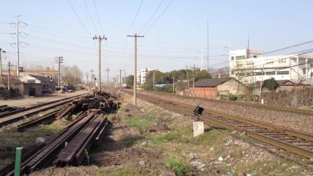 北京到温州K101次马鞍山站通过