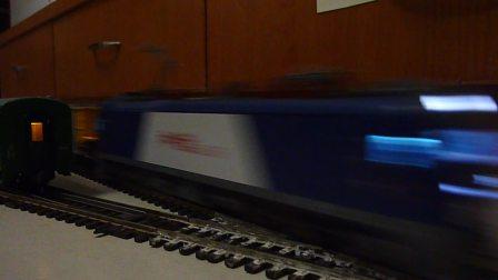 和谐D3电力机车(电猴)模型牵引混编小货列高速