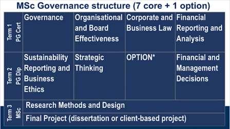 公司治理硕士-课程解析( MSc Governance)
