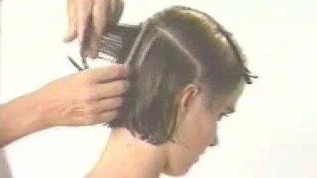 大波浪长发剪短发(下)(沙宣90年代经典剪发5) 标清