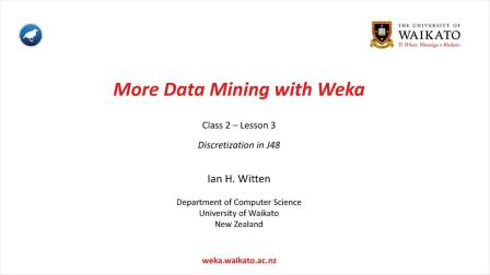 Weka在数据挖掘中的运用之二 2.3 (中文字幕)