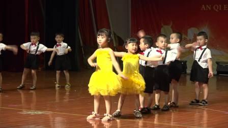 衡南县安琪尔幼儿园第二届传统文化节之《稍息立正站好》