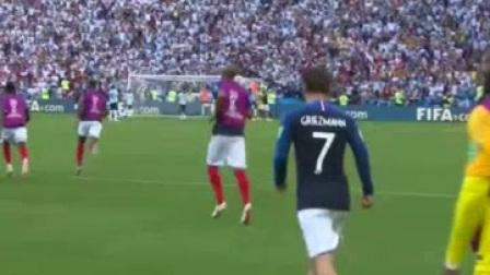 我在【全场集锦】封神之战!姆巴佩梅开二度 阿根廷悲壮出局 法国4-3阿根廷截取了一段小视频