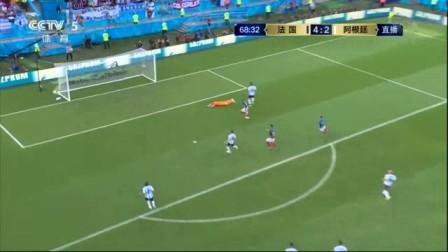 我在封神之战!高卢雄鸡1球领先险胜潘帕斯雄鹰 阿根廷悲壮出局 法国4-3阿根廷截取了一段小视频