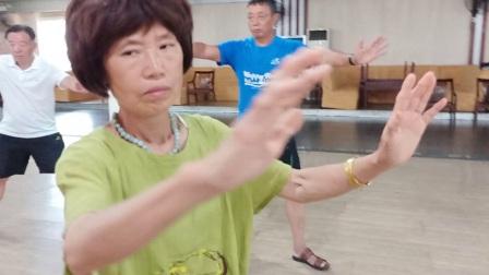 温岭2018届老年大学的杨式24式太极拳