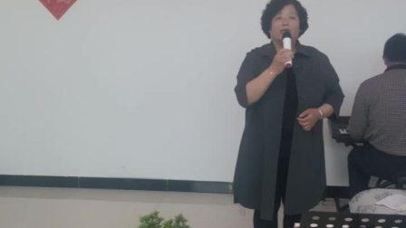 定兴具韦家营王淑娟家庭演唱会 王淑娟演唱歌曲:小白杨
