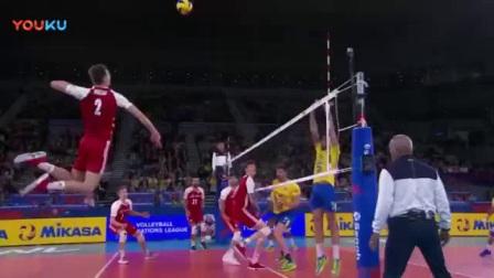 我在热血排球! 世界男排联赛-VNL总决赛宣传片截了一段小视频