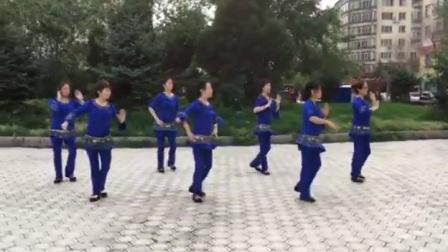 哈尔滨市金色阳光广场舞【那就是我】附-金色阳光老师口令教学