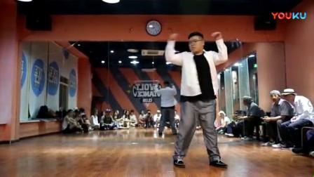 我在假如舞蹈室只有中文歌 D Double C 游舞街舞剪辑版截取了一段小视频