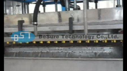 【必硕科技】产品视频——汽车轮毂 运输衬垫 大型承重类 卡板生产线