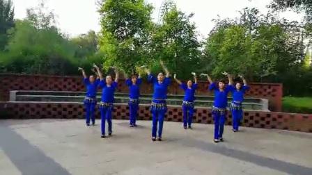 哈尔滨市金色阳光广场舞【黄玫瑰】团队表演-录制-朱志忠