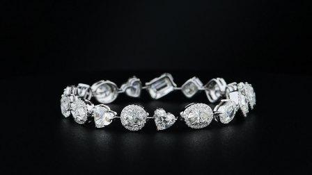 #JCBW05390702# 白钻手链 钻石