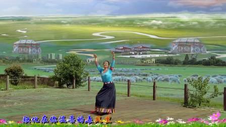 黄山小鱼儿广场舞《天边的情歌》外景抠像制作