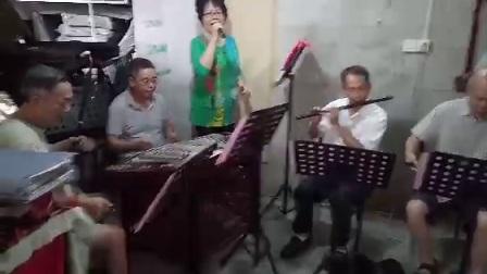 《祖国的好江南》詹春芳唱~饶北小乐队伴奏