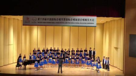 """重庆大剧院爱乐童声合唱团""""第十四届中国国际合唱节""""比赛实况《春天来到我们的战场》"""