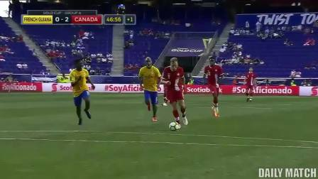 French Guiana vs Canada 2-4 - All Goals u0026 Highlights -Gold Cup 07_07_2017 HD