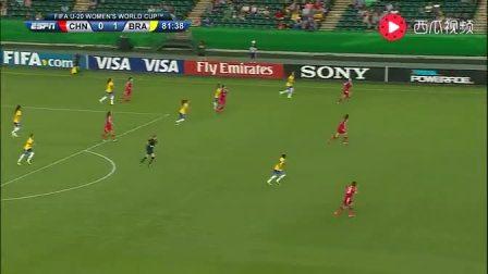 中国女足那精准的传球跟团队配合是男足远远达不到的