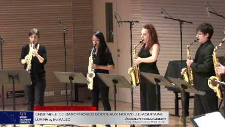 LUMINA by IVO ?????????  - Ensemble de Saxophones Bordeaux