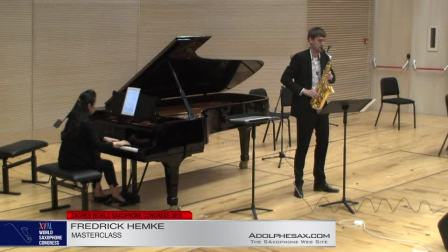 FREDERIK HEMKE - Masterclass