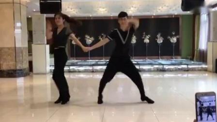 小王子银色水兵舞第一套演示(果果,不不)