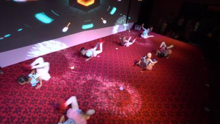 应城小伙伴单色舞蹈暑期汇报表演13---基本功展示