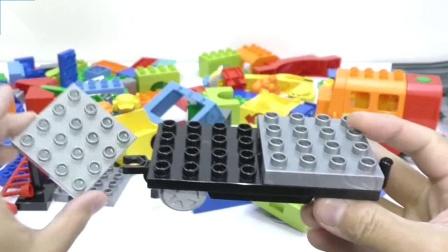 积木玩具, 有趣的小火车