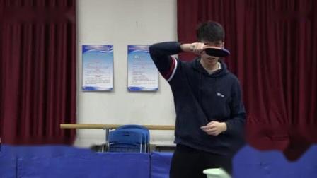 我在乒乓生活 - 马骁阳教学: 九阳神功正手攻球篇: 无上心法修炼至刚正手截了一段小视频