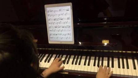 在家用伴奏王弹奏钢琴的流行练习曲