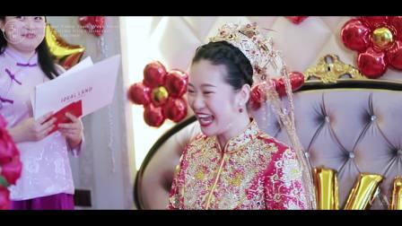 华德婚典 工作时刻--7.28 王晨光 单珊【从校服到婚纱 从牵手到相守 只此一眼 便是余生】婚礼电影