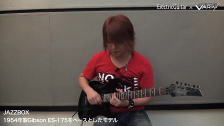 James Tyler Variax JTV89F 吉他模拟技术演示 29电吉他合一 功能演示视频