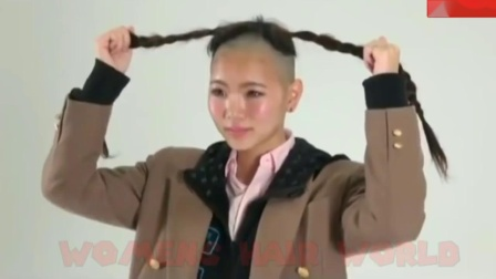 Young and Cute Japanese Model Headshave