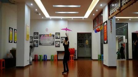 伞舞:微风细雨(正面、背面)