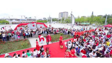 奥兰斯影视作品-昊翰林文化传媒  兰州新区首届集体婚礼