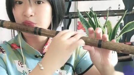 笛子演奏《十五的月亮》大家中秋快乐