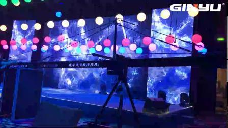 LED升降动能球