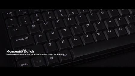 WKB-1200CB – Wireless Spill Resistant Compact Keyboard & Mouse Combo
