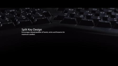 Adesso WKB-1150CB Tru-Form™ Media 1150 – Wireless Ergo Mini Keyboard & Mouse