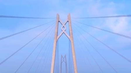 港珠澳大桥航拍_淮西子