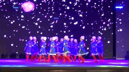 雷州市2018年重阳节联欢晚会雷州巾帼队雪域踢踏