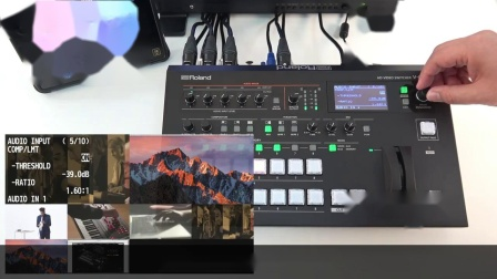 V-60HD快速入门2 连接音频设备