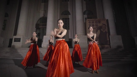 单色舞蹈拉丁舞展示 斗牛的豪迈 武汉舞蹈培训