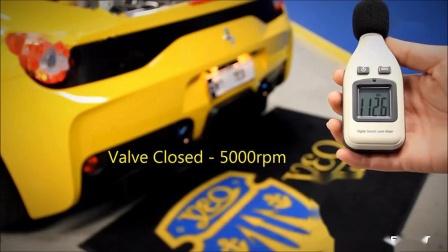 黄色闪电法拉利Ferrari 458 Speciale改装Fi Exhaust 排气管震撼排气声浪!!!
