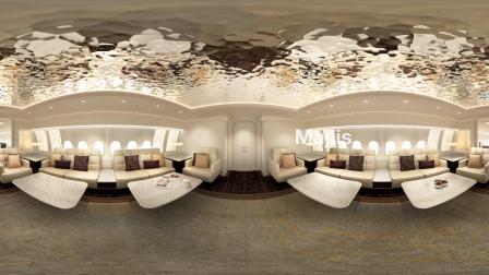 BBJ 777X客舱360度视频