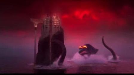 我在精灵旅社3:疯狂假期截了一段小视频