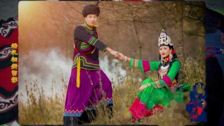 彝族婚礼实拍录像,婚礼现场照片留影短片